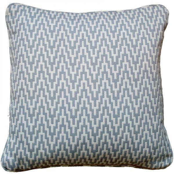 Wavy Zig Zag Pattern Cushion