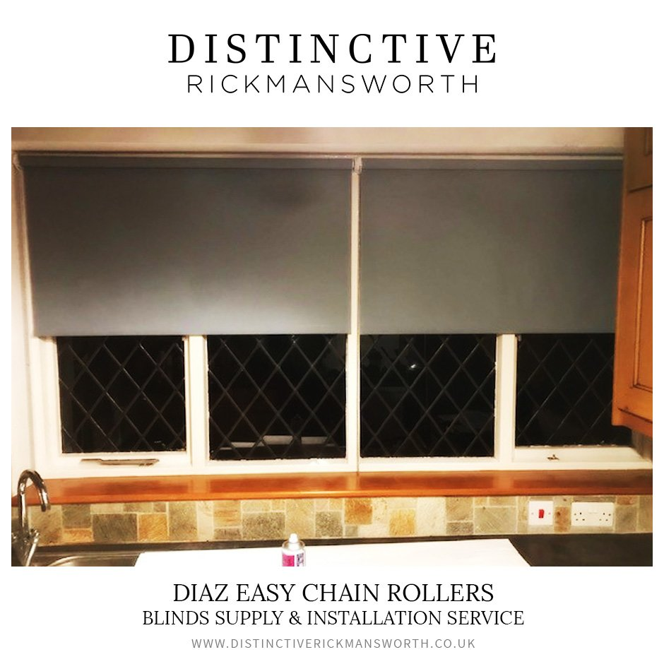Diaz Easy Chain Roller Blinds - Distinctive Rickmansworth