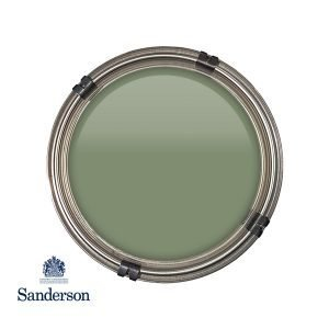 Devon Green Sanderson Paint, Distinctive Rickmansworth