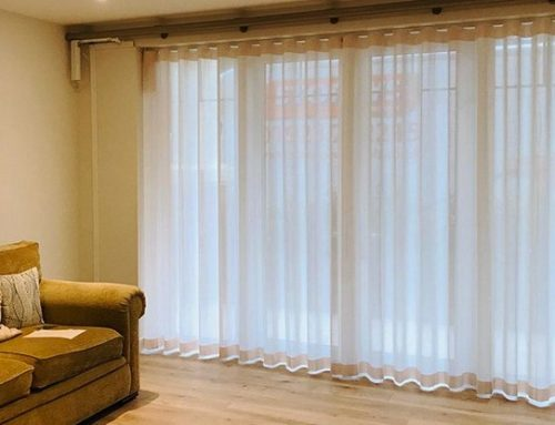 Electrically operated Sheer Wave curtain