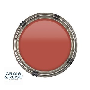 Oriental Red Craig & Rose Paint, Distinctive Rickmansworth